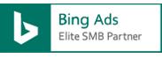 Bing Ads Elite SMB Partner badge